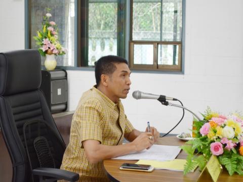 ประชุมคณะกรรมการดำเนินงานด้านการรับนักเรียน นักศึกษา ปี 2561