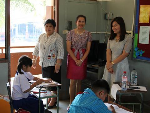 เยี่ยมสนามสอบ RT ปีการศึกษา 2562