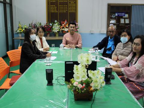ร่วมประชุมผู้บริหารสำนักงานปลัดกระทรวงศึกษาธิการ ผ่านระบบ Zoom