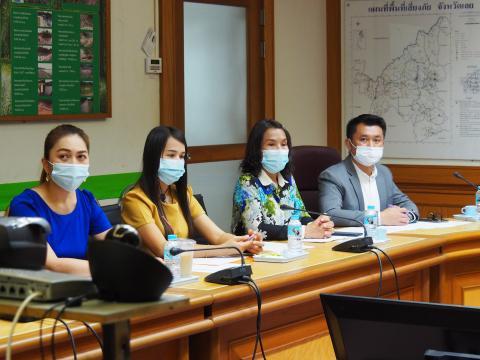 จ.เลยร่วมประชุมชี้แจงแนวทางการขับเคลื่อนงานโครงการทุนการศึกษาฯ