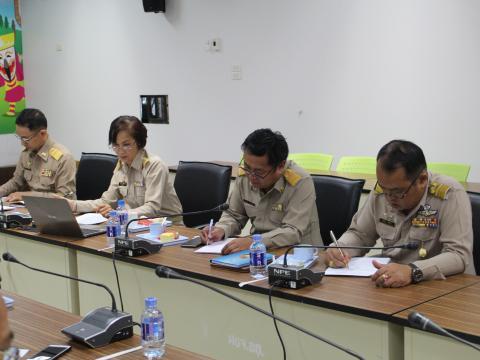 ประชุม รณรงค์เผยแพร่และประชาสัมพันธ์การเลือกตั้ง